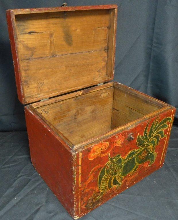 Antique Groom's Lion Case - 4