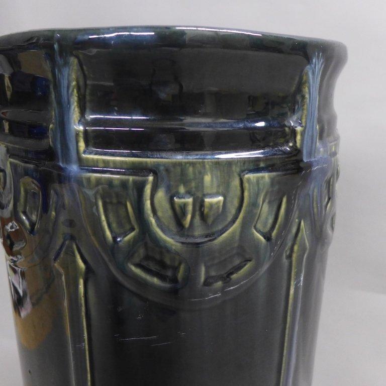 Art Deco Ceramic Umbrella Stand - 3