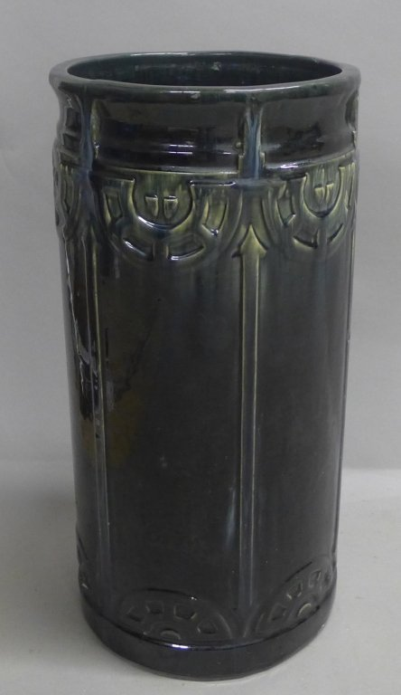 Art Deco Ceramic Umbrella Stand - 8