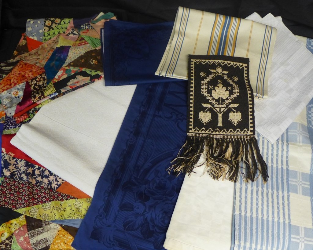 Grouping of Textiles and Linens