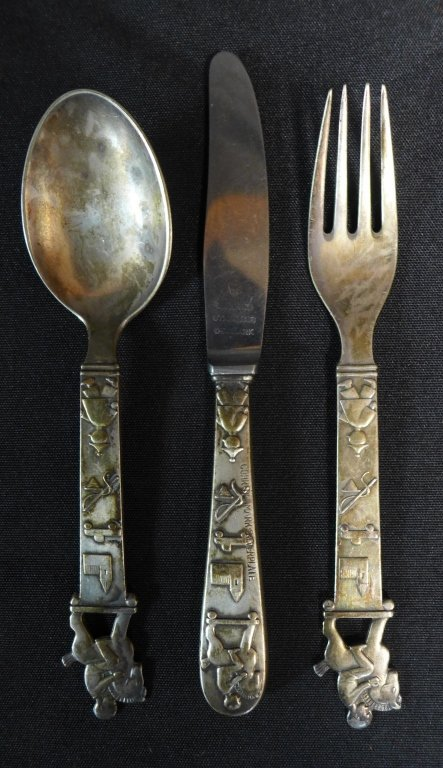 Children's Flatware Set, Denmark