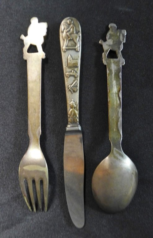 Children's Flatware Set, Denmark - 8