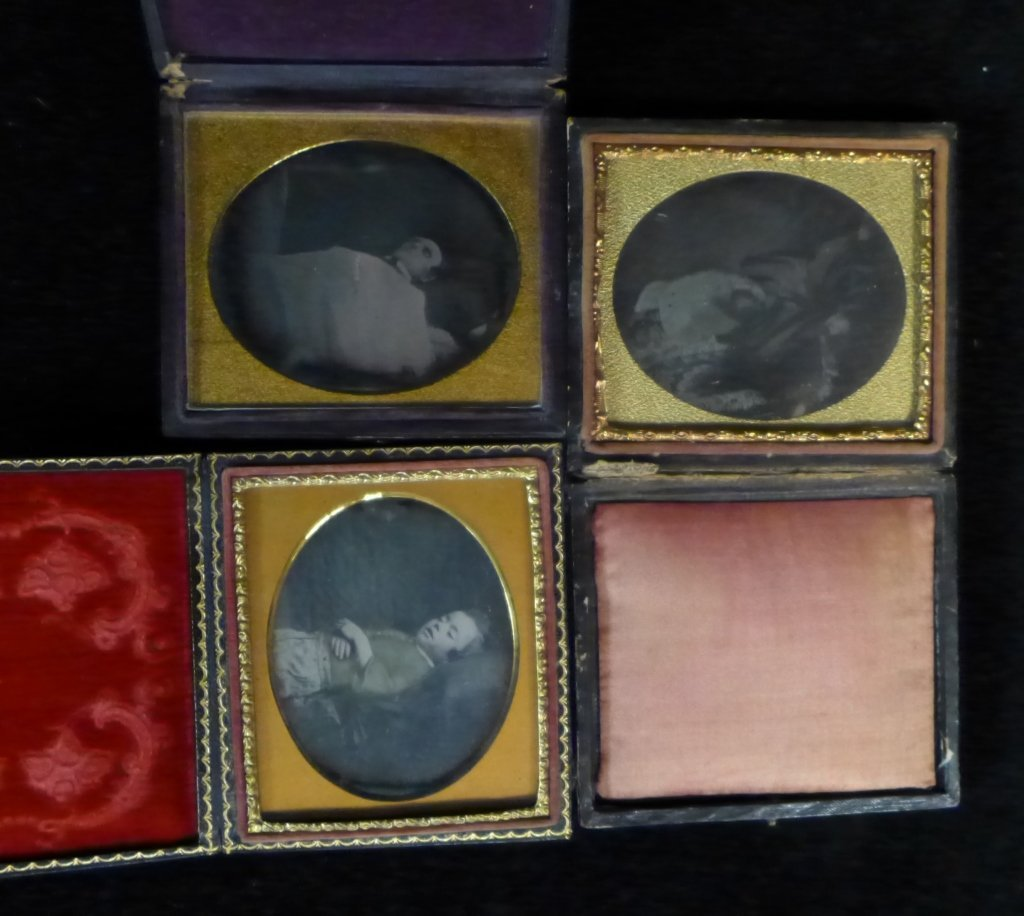 3 Post Mortem Ambryotypes/Daguerrotype (Child) - 2