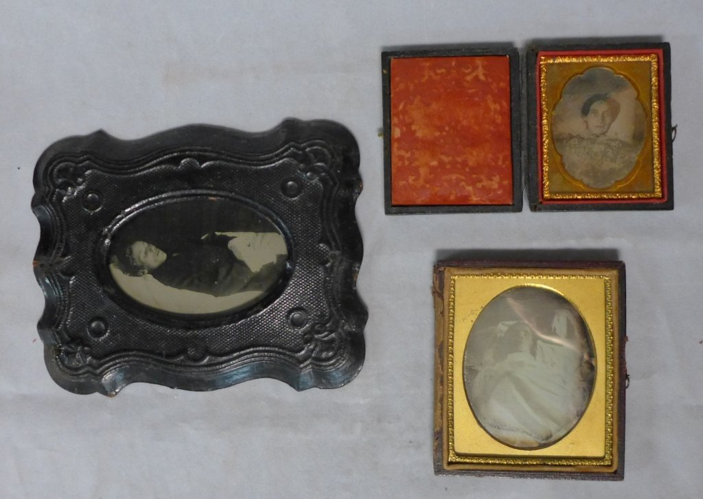 Collection of Postmortem Daguerreotypes/Ambrotypes
