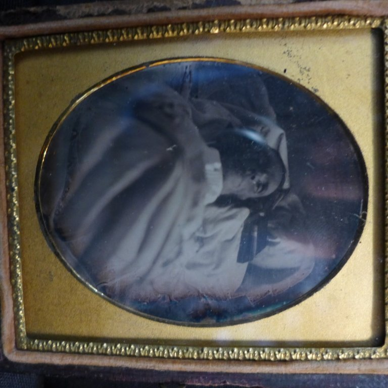 Collection of Postmortem Daguerreotypes/Ambrotypes - 5