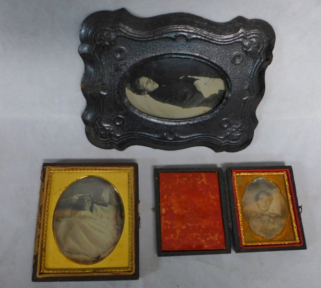 Collection of Postmortem Daguerreotypes/Ambrotypes - 8