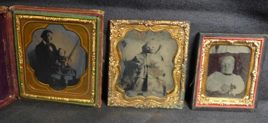 Post Mortem Ambrotypes/ Daguerreotypes Children
