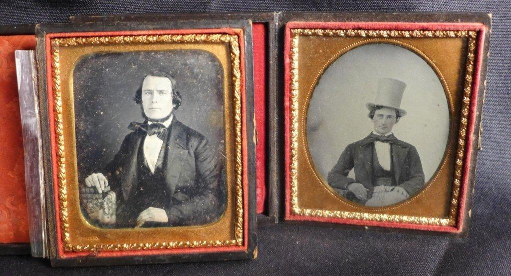 Four Cased Ambrotypes/ Daguerreotypes of Gentlemen - 2