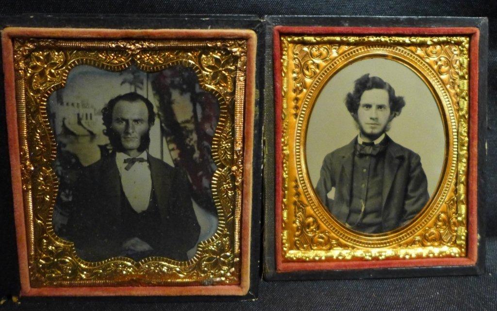 Four Cased Ambrotypes/ Daguerreotypes of Gentlemen - 3