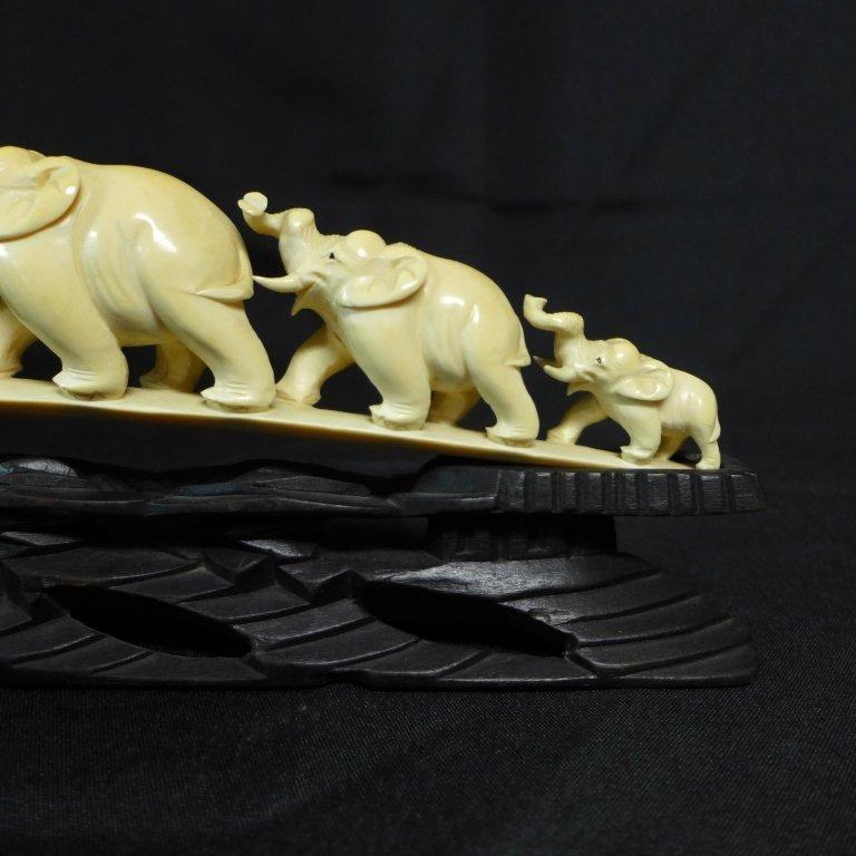 Chinese Carved Elephant Bridge - 6