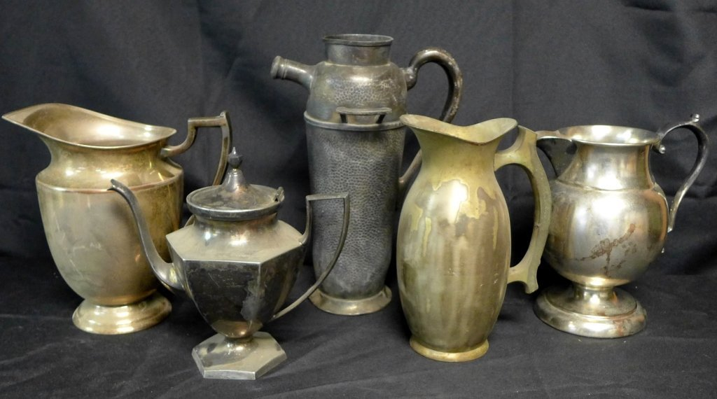 Grouping of Vintage and Antique Pitchers