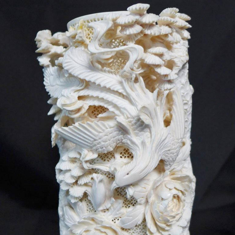 Antique Chinese Figural Carving - 2