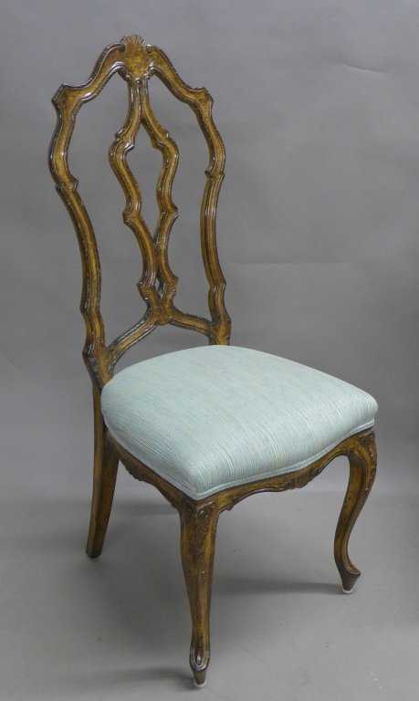 French Provincial Desk and Chair - 3