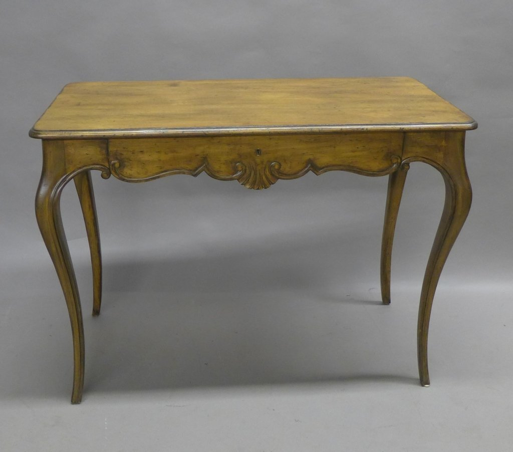 French Provincial Desk and Chair - 4