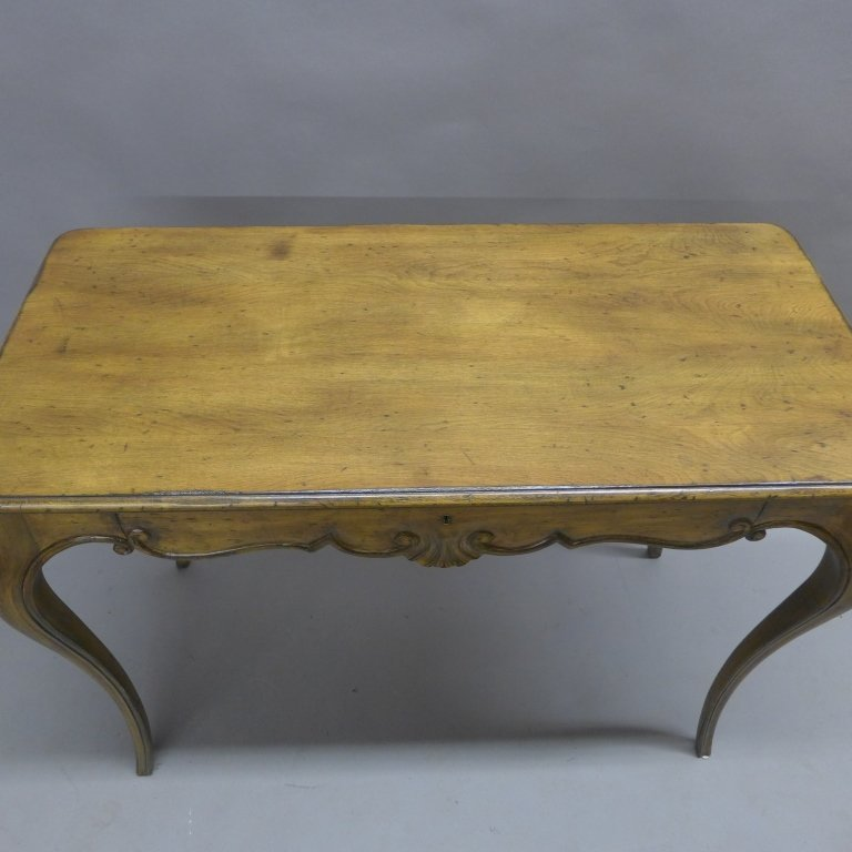 French Provincial Desk and Chair - 5
