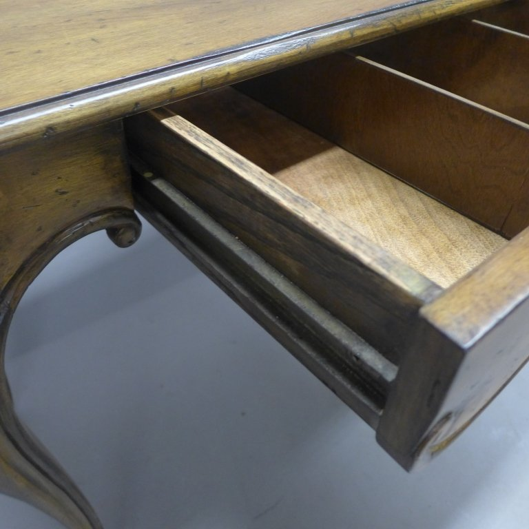 French Provincial Desk and Chair - 7