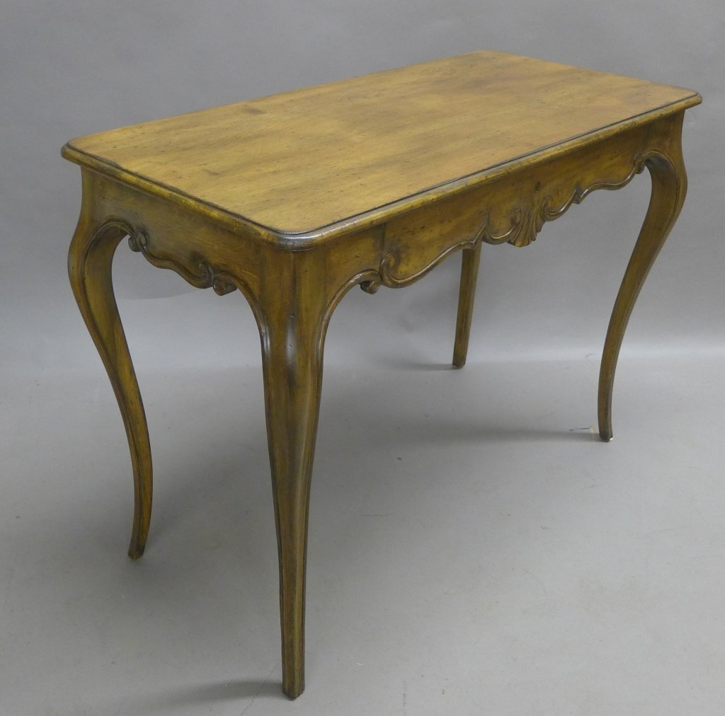 French Provincial Desk and Chair - 9