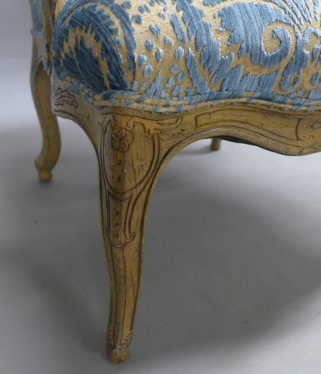 Louis XV Style Bergere Chair - 10