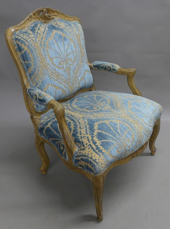 Louis XV Style Bergere Chair