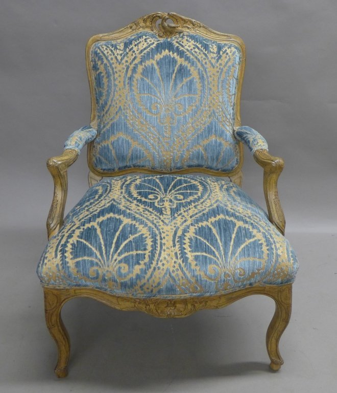 Louis XV Style Bergere Chair - 2