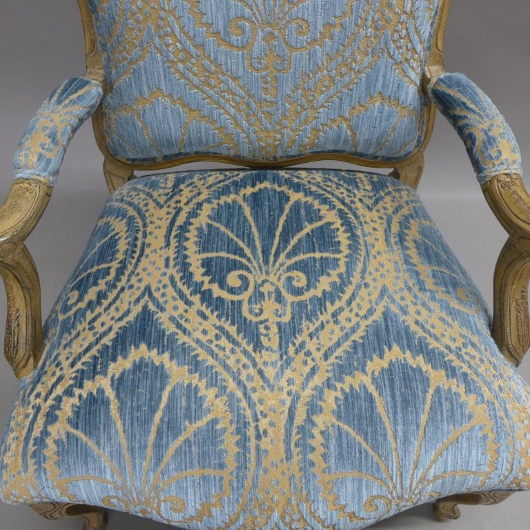 Louis XV Style Bergere Chair - 4