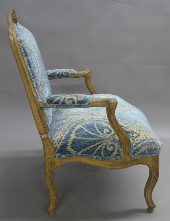 Louis XV Style Bergere Chair - 5