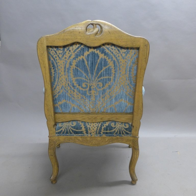 Louis XV Style Bergere Chair - 7
