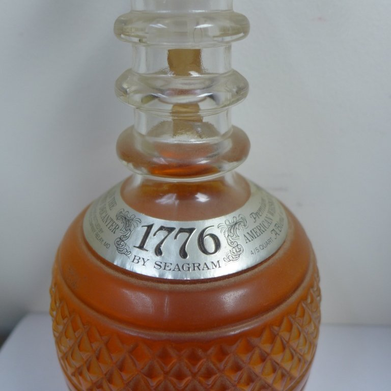 1776 by Seagram in Tiffany & Co Decanter - 4