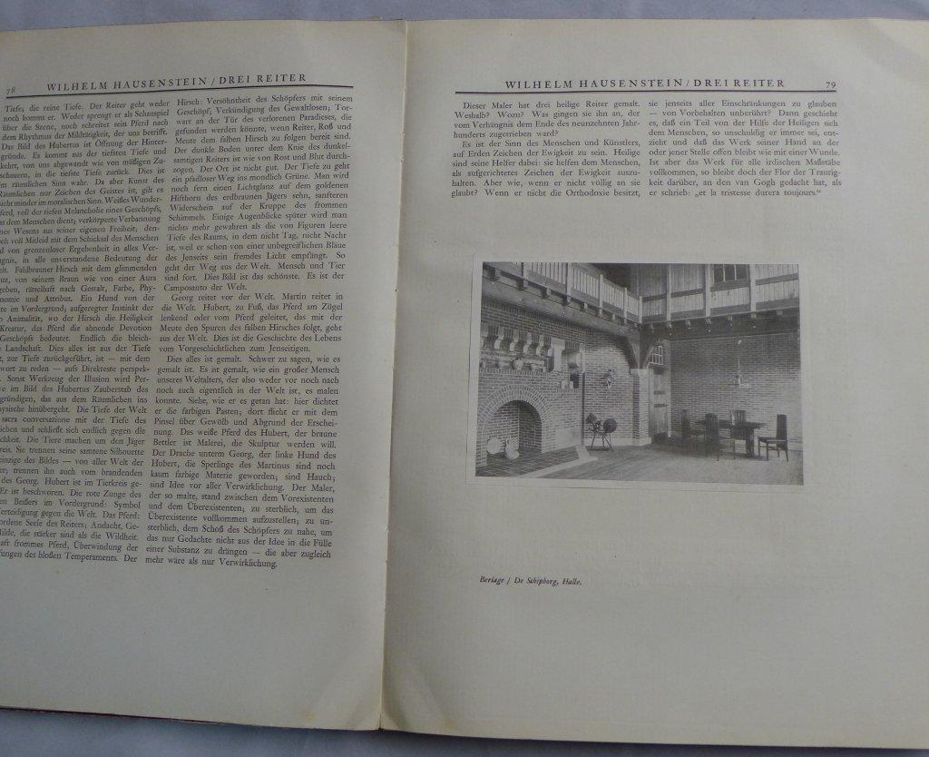 Genius Zeitschrift Fur Werdende Und Alte Kunst - 8