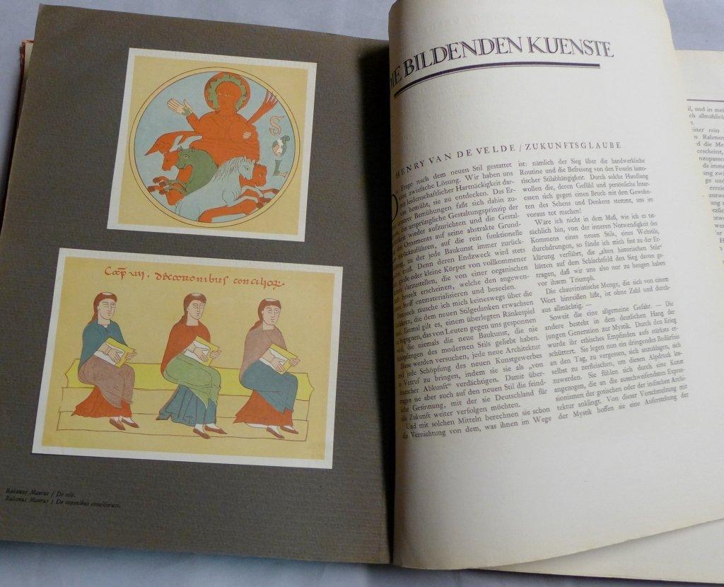 Genius Zeitschrift Fur Werdende Und Alte Kunst - 9