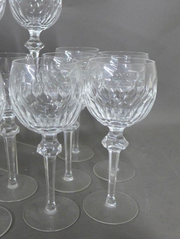 30 Waterford Cut Crystal Goblets, Service for 10 - 2