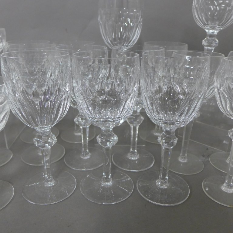 30 Waterford Cut Crystal Goblets, Service for 10 - 3