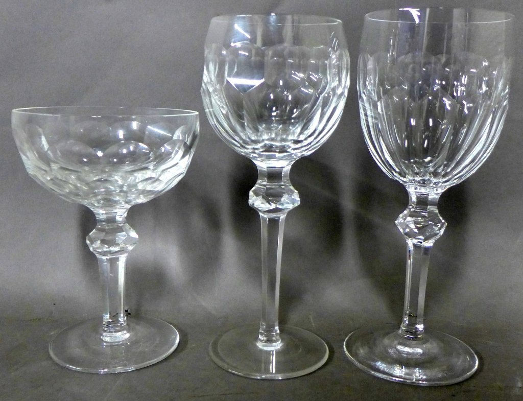 30 Waterford Cut Crystal Goblets, Service for 10 - 5