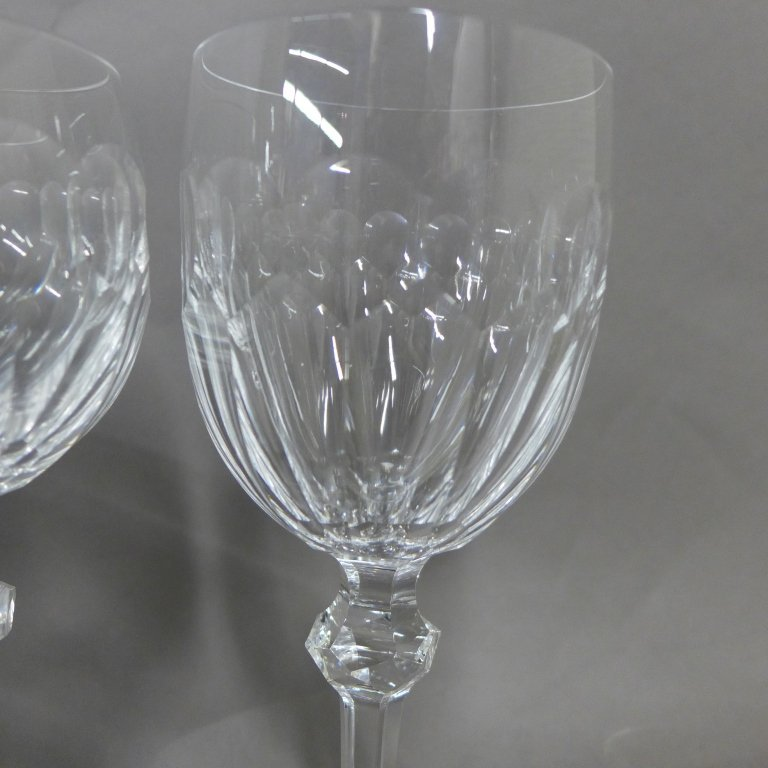 30 Waterford Cut Crystal Goblets, Service for 10 - 6