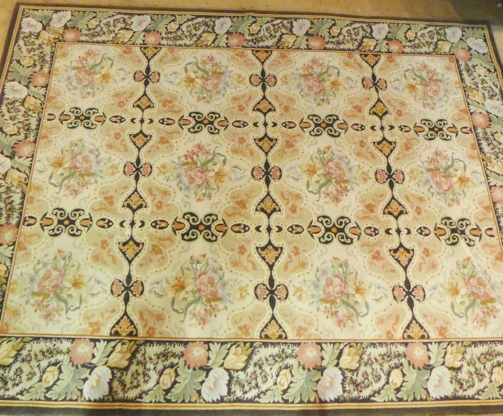 Beautiful Large Floral Carpet