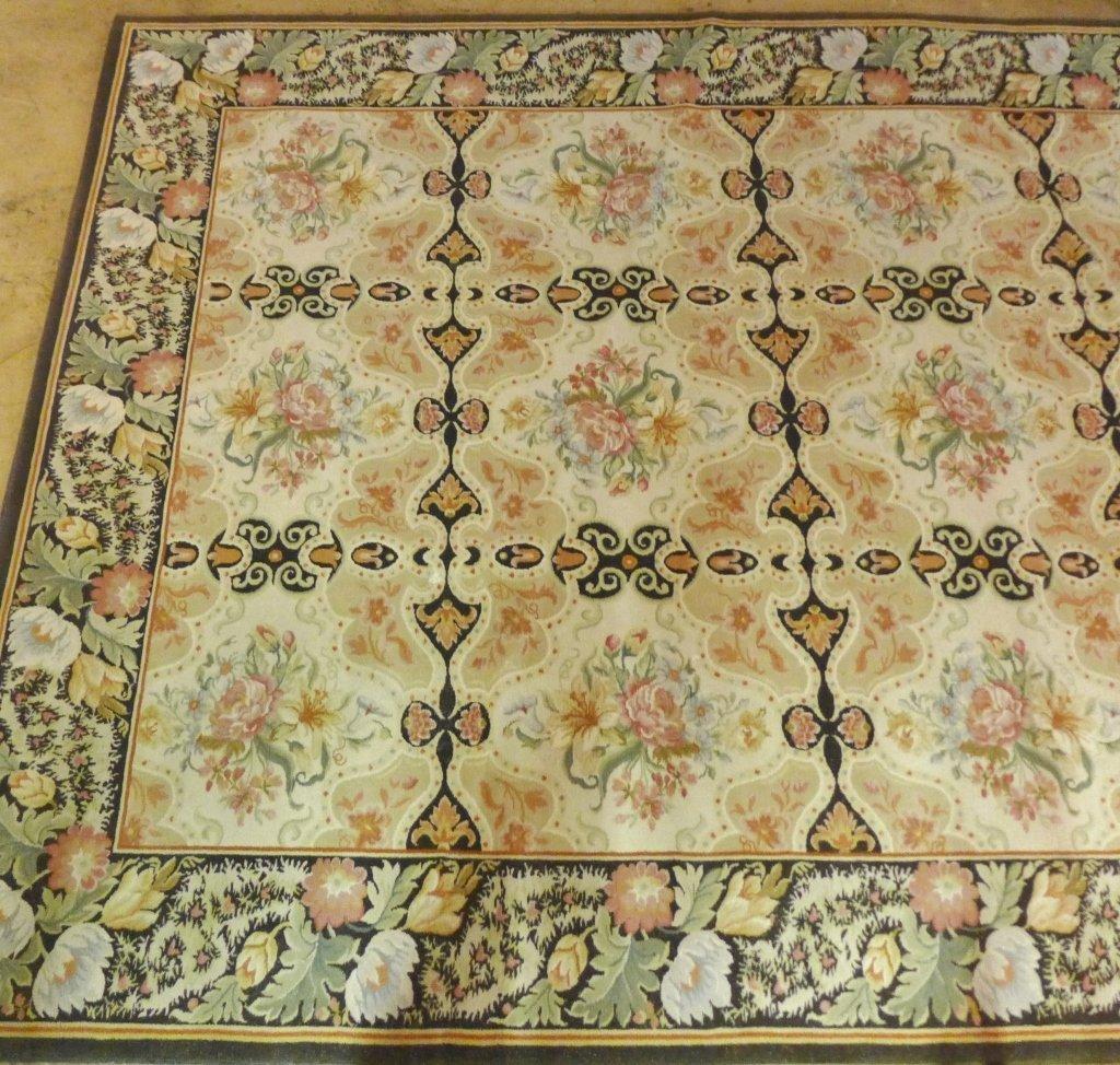 Beautiful Large Floral Carpet - 3