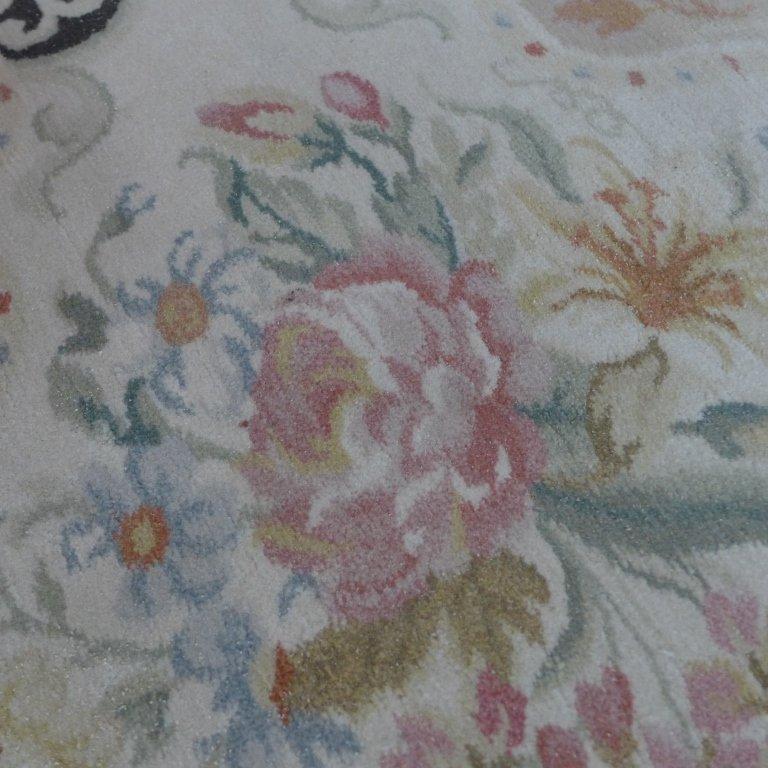 Beautiful Large Floral Carpet - 4