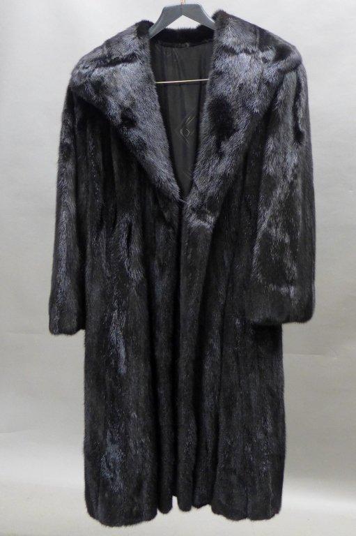 Dark Brown/ Black Fur Coat