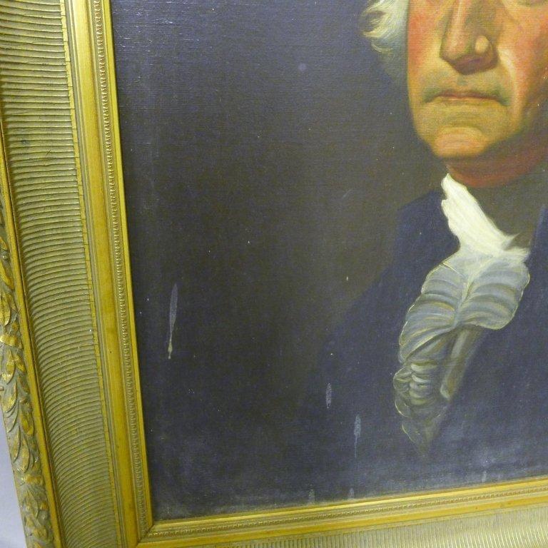 Antique Portrait Painting of George Washington - 3