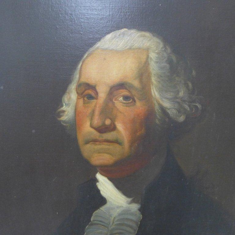 Antique Portrait Painting of George Washington - 4