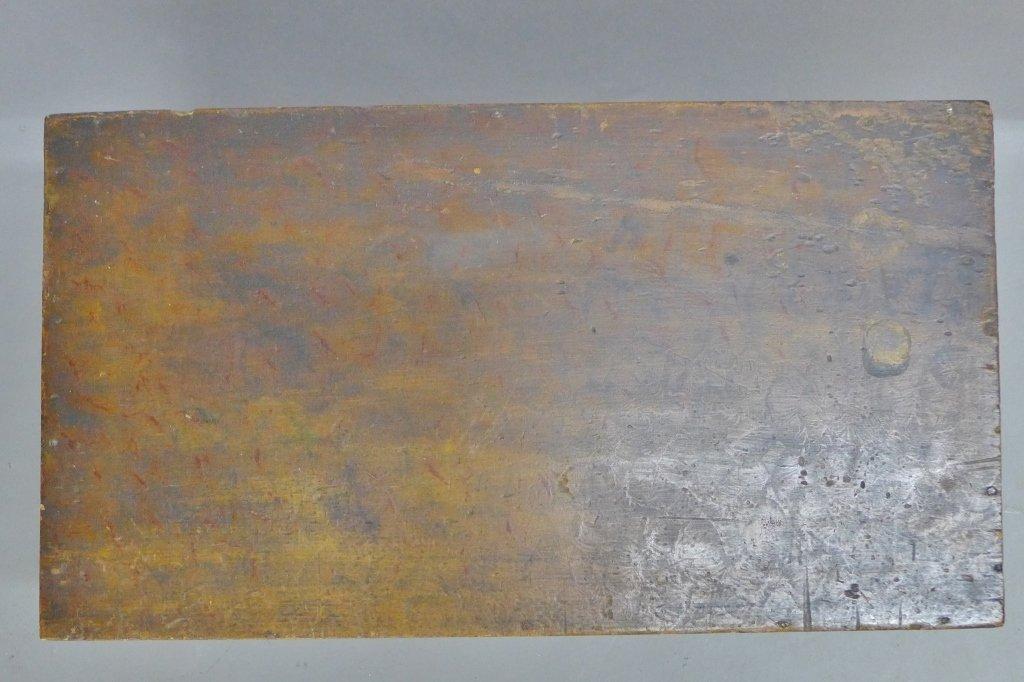 Vintage Wood Trunk - 2