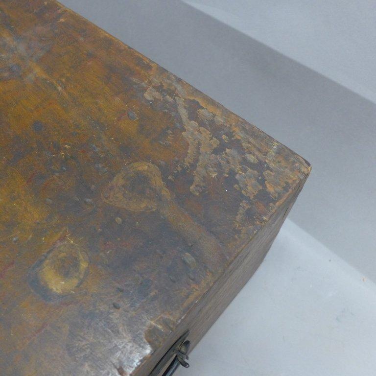 Vintage Wood Trunk - 3