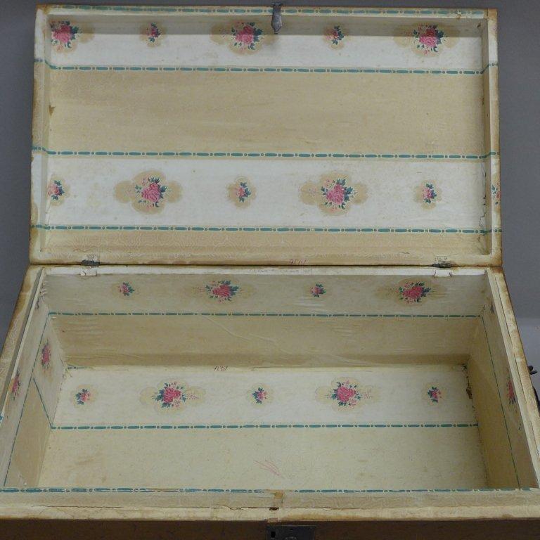Vintage Wood Trunk - 7