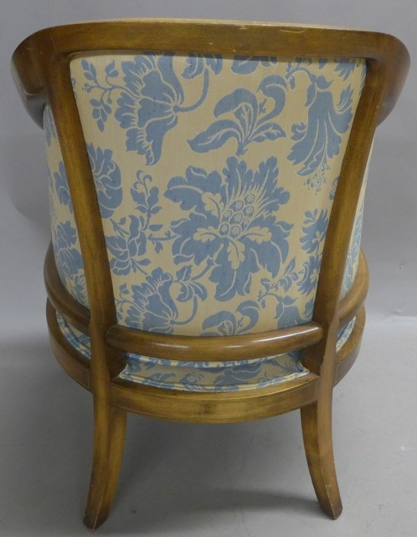 Upholstered Louis XVI Style Bergeres Arm Chairs - 6