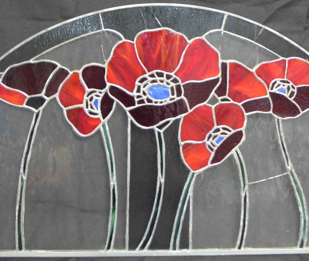 Stained Glass Arch Panel - 2