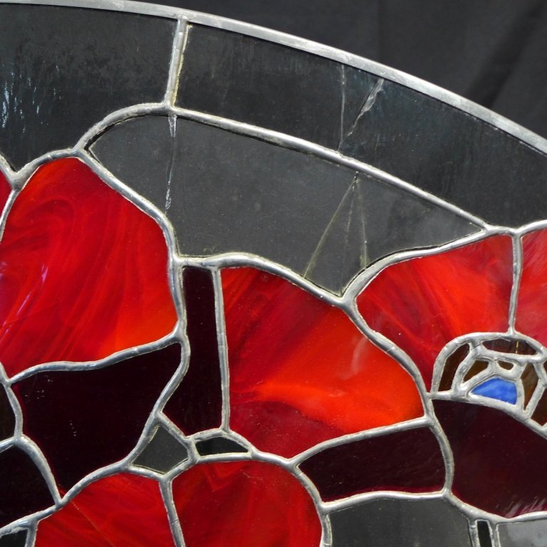 Stained Glass Arch Panel - 3