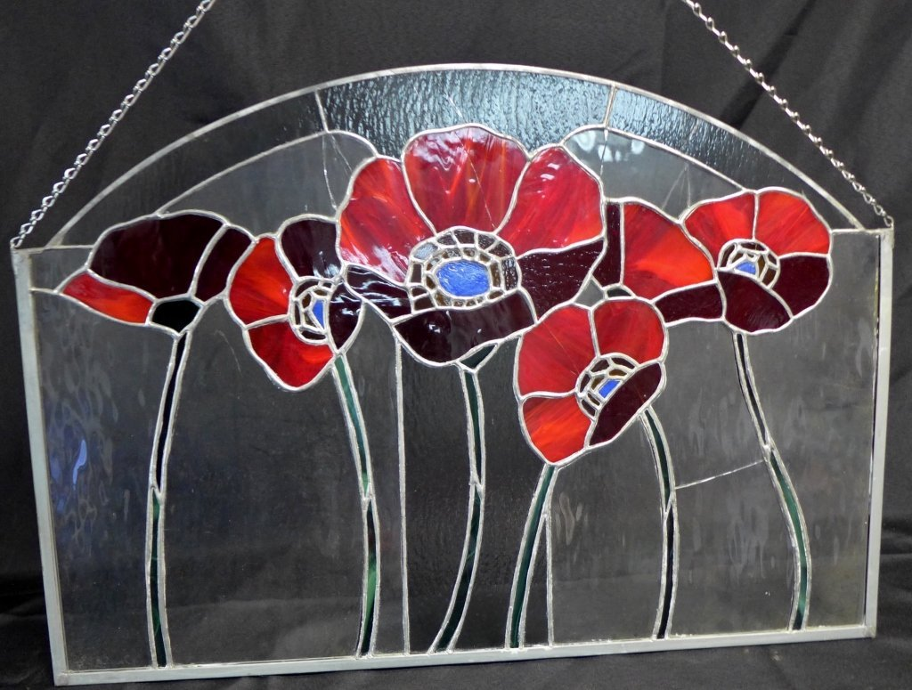 Stained Glass Arch Panel - 4