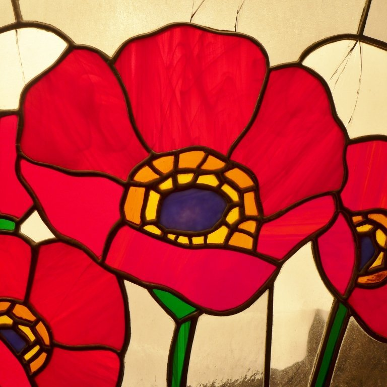 Stained Glass Arch Panel - 5