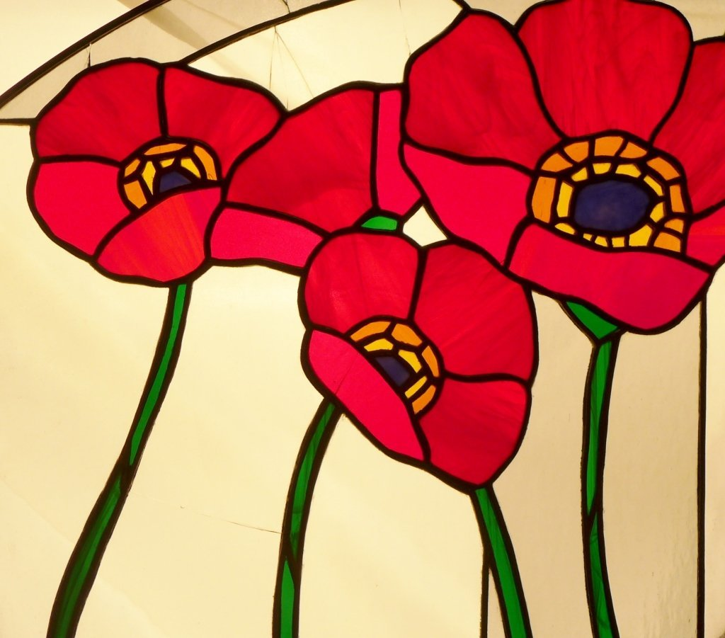 Stained Glass Arch Panel - 7