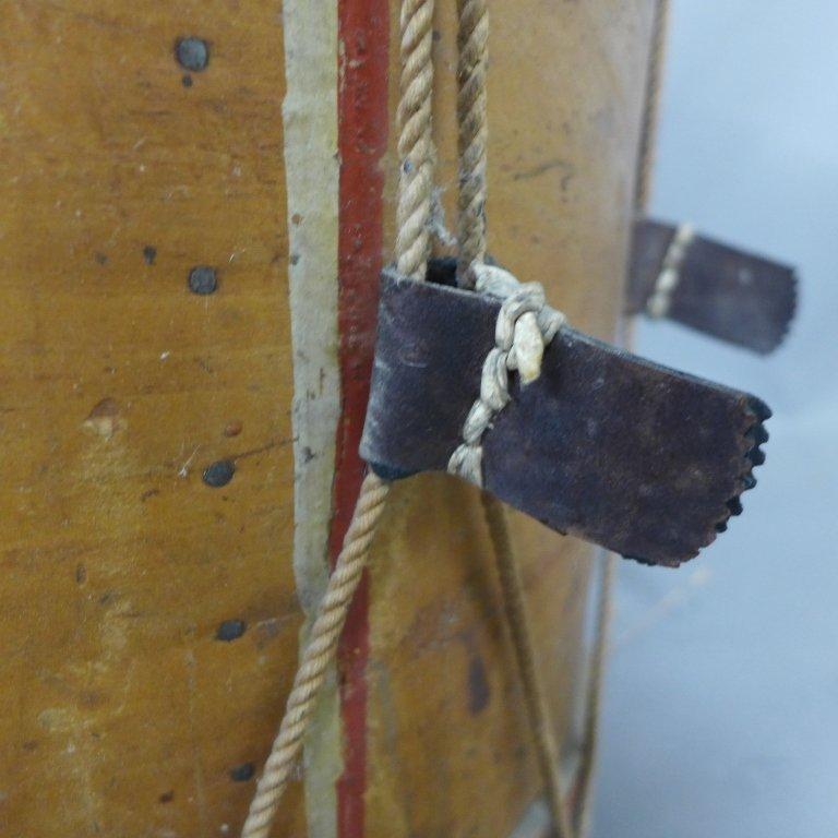 Antique Painted Drum - 7